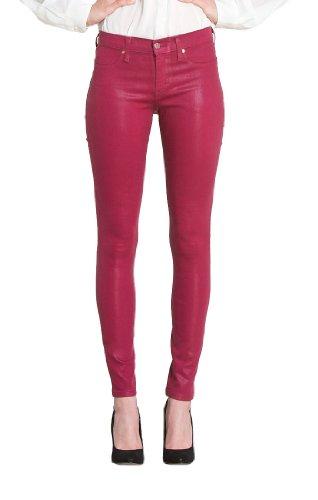 Henry & Belle Damen Jeans Niedriger Bund, All over Druck 133651, Gr. 29, Rot (sangria) (Und Belle 29 Jeans Henry)