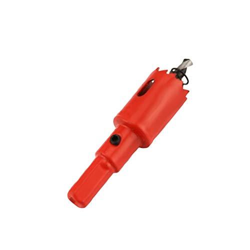 Leoboone M42 1pc Opener Foret Cutter Scie cloche 25 mm pour perceuse en aluminium, fer et acier inoxydable Plaque métal