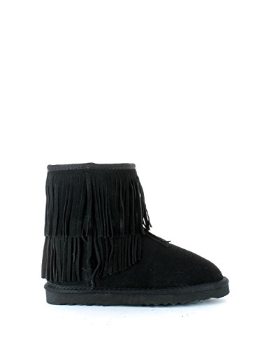 Ugg boot in camoscio nero con frange N. 37