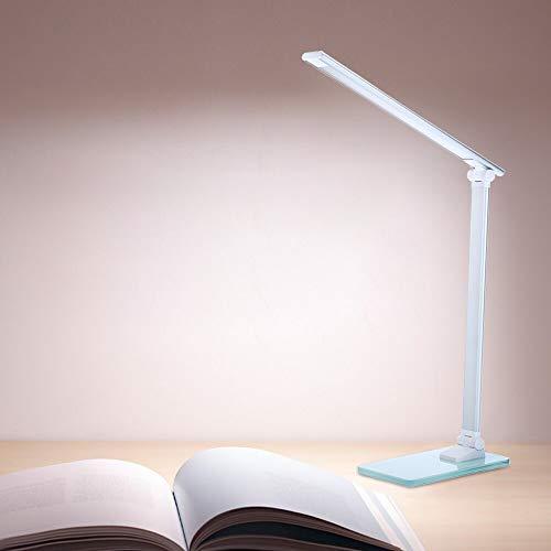 BGSTD table lampLED Tischlampe tragbare flexible 3-Schicht-Helligkeit Touch Control Lampe Schlafzimmer Studie Bürobeleuchtung