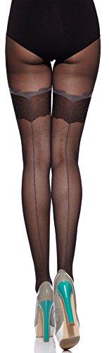 Merry Style Damen Strumpfhose MS 312 20 DEN (Schwarz, M)