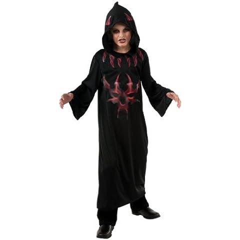 Rubbies - Disfraz de túnica de diablo para niño, talla L (881442L)