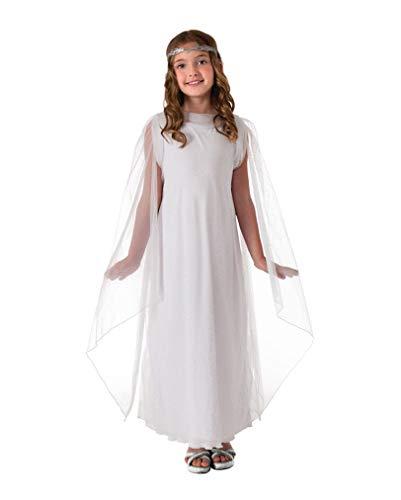 Horror-Shop Galadriel Kinder Verkleidung S (Galadriel Kostüm Kind)