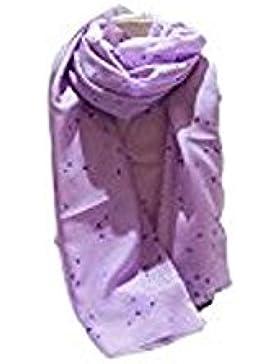 Armani Damen Schal Violett Lilla