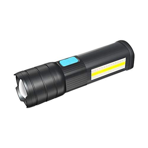 Arvin87Lyly LED Taschenlampe USB Taschenlampe Camping Taschenlampe,Taschenlampe LED Starkes Licht Wiederaufladbare Multifunktionale Super Helle Outdoor Camping wasserdichte Mini Taschenlampe -