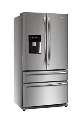 Haier HB22FWRSSAA Kühl- Gefrierkombi/French Door/A+ / 178cm Höhe / 415 kWh/Jahr / 387 L Kühlteil / 135 L Gefrierteil/Inverter Kompressor/Wasserspender/Eiswürfelbereiter