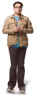 Pappaufsteller Leonard Hofstader - Big Bang Theory Aufsteller Standup Figur Kinoaufsteller Pappfigur Cardboard Lebensgroß Life-Size Standup