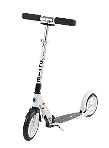 Micro Mobility SA0031 White Scooter, Weiß - Blau Micro Sprite Scooter