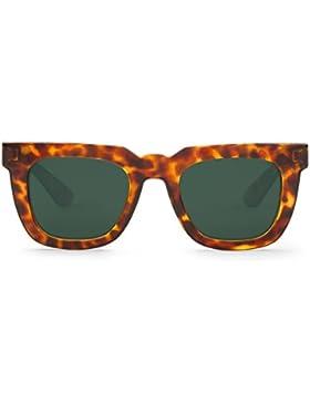 Mr Boho Melrose with Classical Lenses, Gafas de Sol Unisex, Cheetah Tortoise, 50