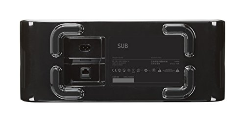 Sonos Sub 1° Generazione, Subwoofer Wireless, Integrabile ai Sistemi Sonos, Nero - 2