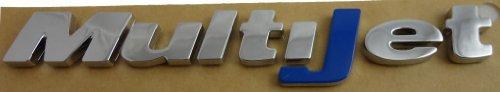 véritable Fiat multijet Bleu (J) extérieur Chrome Style Badge - 51733986