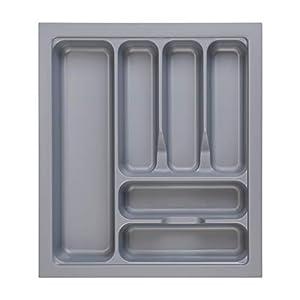 RH Art Besteckkasten für Schubladen 50er Besteckeinsatz Küche aus Kunststoff Spülmaschinenfest 417 x 474 X 60 mm