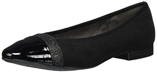 Softline 22165, Ballerine Donna Nero (Black)