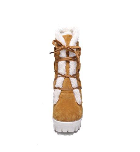 BalaMasa - Stivali da Neve donna Yellow