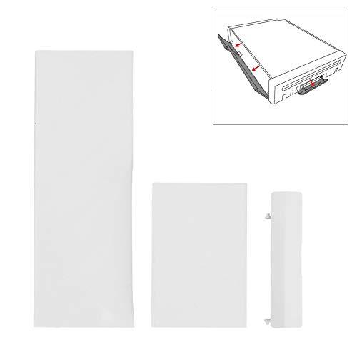 B5645ells Ersatzteile Speicherkartenfachdeckel für Nintendo Wii Console 3Pcs - Weiß