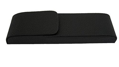Preisvergleich Produktbild Alassio 2661 - Schreibgeräteetui Aquila,  aus Lederimitat,  schwarz,  ca. 15, 5 × 4 × 2 cm