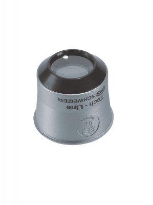 Uhrmacherlupe Vergrößerung 10x Linsen-D.22,8 Tech-Line/A.
