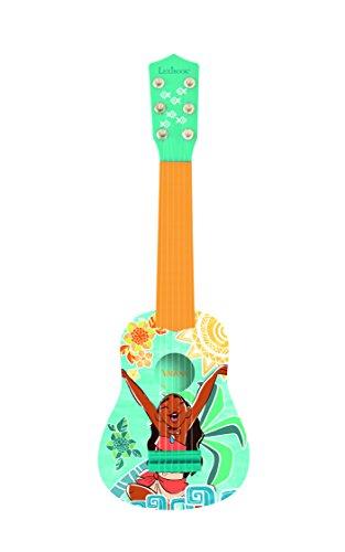 Vaiana K200VN Disney Primera Guitarra, 6 Cuerdas, 53 cm de Largo, Juguete niña a Partir de 3 años (Lexibook