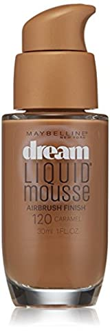MAYBELLINE DREAM LIQUID MOUSSE AIR BRUSH FINISH #DARK 2 CARAMEL