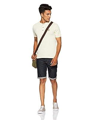 US Polo Association Men's Checkered Regular Fit T-Shirt
