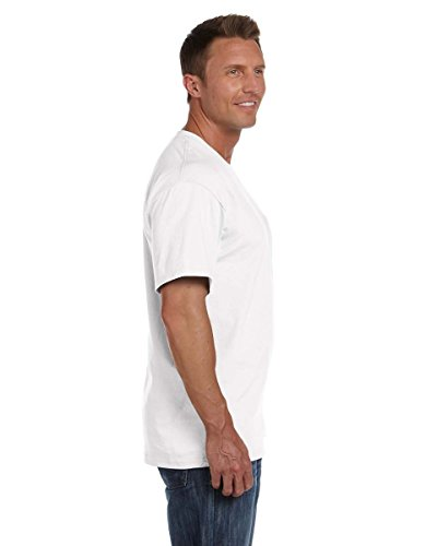 Fruit Of The Loom 61202 Mens Short Sleeve Heavy Pocket T-Shirt Tee White