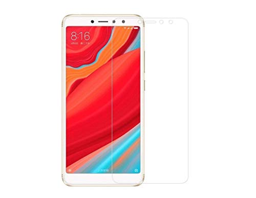 Aeidess Edge-Edge Tempered Glass Screen Protector for Redmi Y2