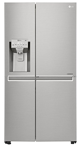 LG GSJ961NSBZ side-by-side refrigerator - side-by-side fridge-freezers (Freestanding, Stainless ste