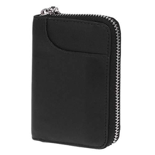 Tumi Slim Wallet (Pingxia Leder Kreditkartenetui mit 11 Fächer für Ausweis, Kreditkarte, Bankkarte, Führerscheine, Medizinische Karten - Schwarz)