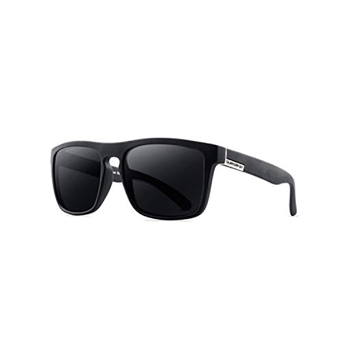 Sportbrillen, Angeln Golfbrille,NEW Polarisiert Sunglasses Men's Driving Shades Male Sun Glasses For Men Retro Cheap Luxury Brand Designer Gafas De Sol Black and white