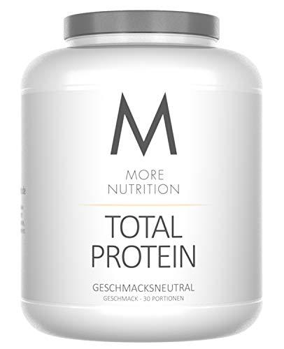 More Nutrition Total Protein - Whey & Casein Zur Optimalen Proteinsynthese 1 x 1500 g (Geschmacksneutral)