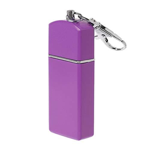 HuihuayTragbarer Mini-Taschenaschenbecher Windundurchlässige Etuis Schlüsselanhänger für das Rauchen im Freien - Pl Pendelleuchten