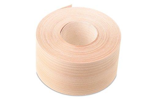 Kleiderschrank Cedar (Zeder (50mm Breite x 7,5m länge) Furnier Besatz, Libanon Zeder/True Cedar/Zeder des Libanon/Furnier Rand Streifenbildung Tape–Superior Grade serienmäßig DIY zum Aufbügeln (Hotmelt) PE & geschliffen Furnier Kanten Rollen. Der aromatisch Furnier Hat Eine starke Geruchs mit besonderen Eigenschaften. Traditionell angewendet für die Innenflächen der Schränke, besonders Kleiderschränke, Decke Truhen und die wie der Duft ist Said zu bekà ¤ mpfen. Es wird von Profis für Einlegearbeiten Inlays, Türen und Möbel.)