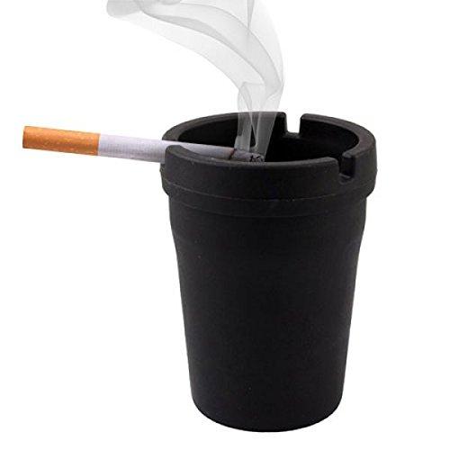 Original KFZ Aschenbecher mit Deckel aus schnell. Notebook Zubehör Raucher und billig. Ideal für Geschenk. usalo auch zuhause Haus Garten Büro Freien