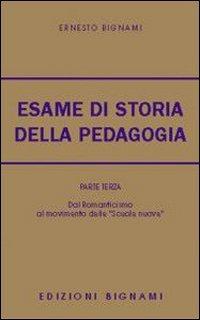 L'esame di storia della pedagogia: 3