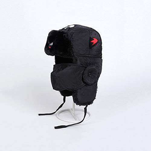 Casquettes, bonnets et chapeaux XUERUI Parent-Enfant Unisexe Trappeur Chapeau Visage Masque Earflaps Doublure Chaude Hiver Thermique Coupe-Vent Enfants Hommes Femmes Ski Vélo