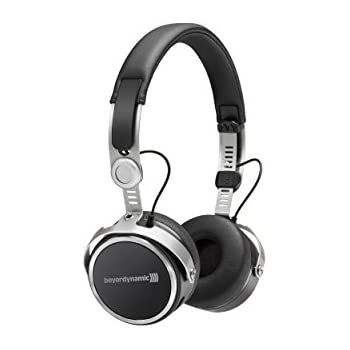 Beyerdynamic Aventho wireless on-ear headphones with sound personalisation, Black