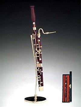 Broadway Fagott W Musik Fall Ständer Miniatur Musikinstrument