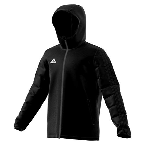 adidas Kinder JKT18 Winter Jacket Black/White 13-14 Years