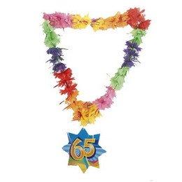 CREATIVE Deko Hawaii Lei Lametta Happy 65. ()