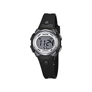 Reloj Digital para Chicos con Pantalla Digital LCD con Esfera y Correa de plástico de Color Negro K5609/6 de la Marca Calypso