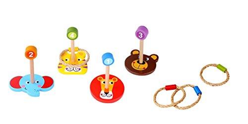Tooky Toy - Juego anillas figuras animales