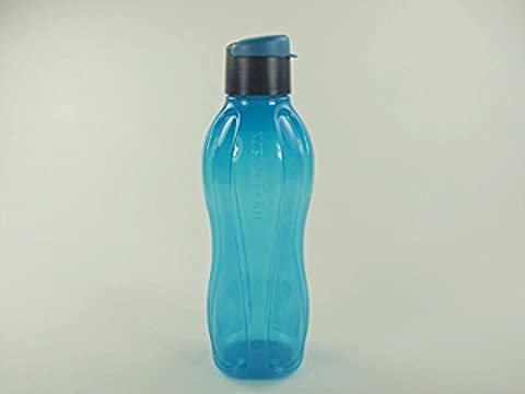TUPPERWARE EcoEasy To Go Trinkflasche Eco Ökoflasche Flasche 750 ml dunkelblau 10429