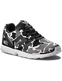 save off 8d503 7c7f3 Adidas ZX Flux J, Zapatillas de Deporte Unisex Adulto