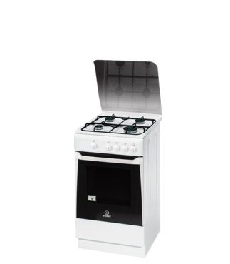 Indesit KN1G20S(W)/I Piano cottura Gas cucina