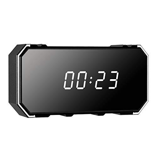 LEEBA - Reloj Despertador cámara espía Oculta, 1080P