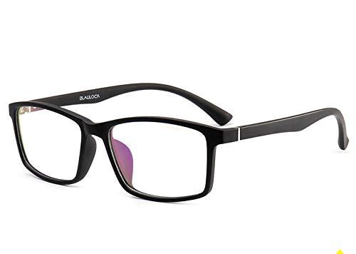 GPZFLGYN Anti-Blau Computer Gläser Anti-Fatigue Stil Premium-Anti-Rutsch-Verteidigung Computer-Strahlung Anti-Blaulicht-Filter Gaming Eye Comfort Clear Glasses Frame