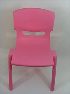 High Quality Pink Stackable Kids Children Plastic Chair - inexpensive UK light store.