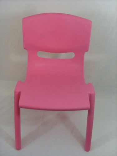 High Quality Pink Stackable Kids Children Plastic Chair