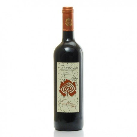 Vin de Domme Cuvée Tradition IGP Vin de Pays du Périgord 2015, 75cl