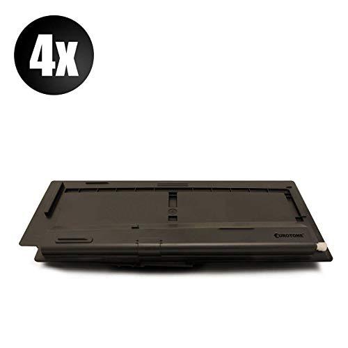 4x Eurotone Cartuccia Toner per Kyocera KM 1620 1635 1650 2020 2035 2050 S F J sostituisce 370AM010 TK410